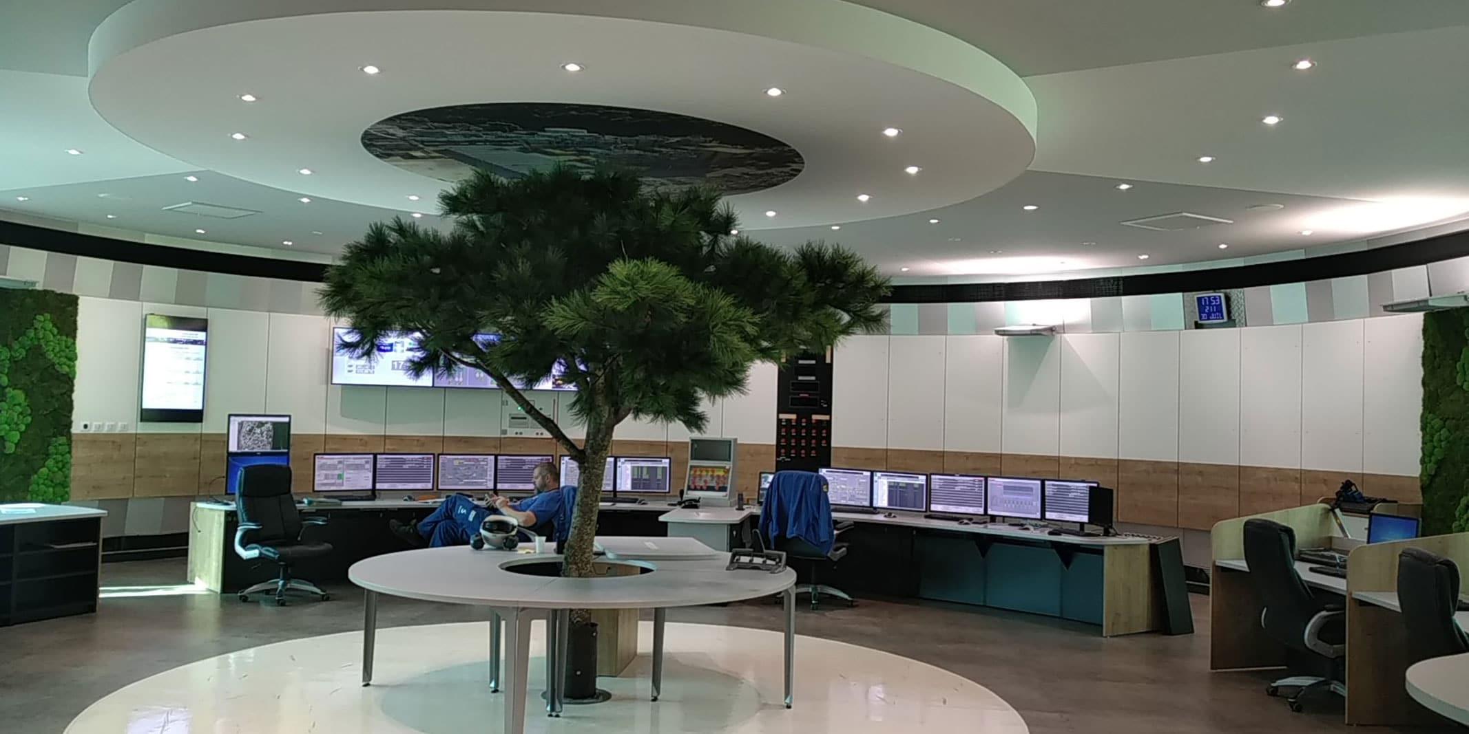 bureau etudes salle controle martime salle de controle salle de supervision par SOA Agencement bureau d'études pour CSU, entreprises et industriels.