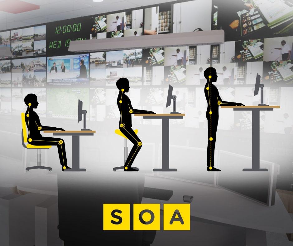 ergonomie Soa agencement salle controle supervision