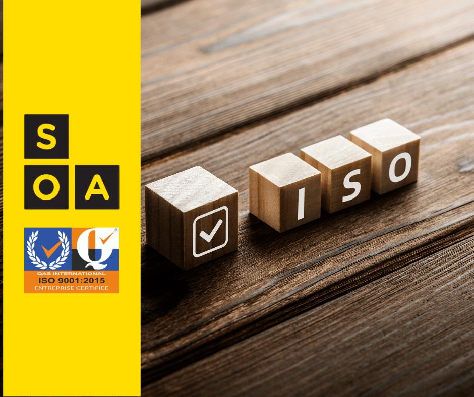 Renouvellement de la certification SOA ISO9001 1