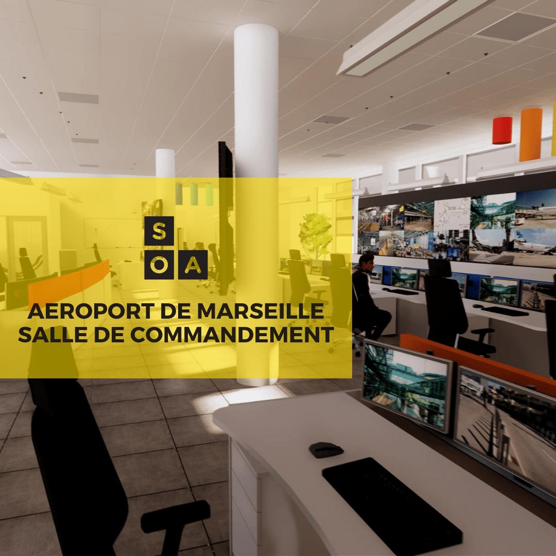 SOA Agencement remporte le marché de la salle de commandement de l'aéroport de Marseille [vidéo] 3