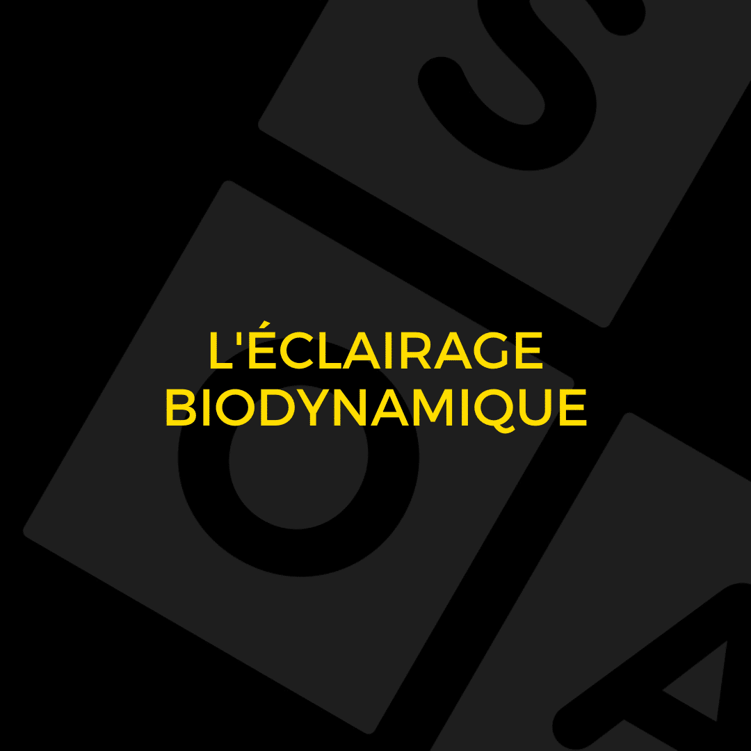 L'éclairage biodynamique - Visual Timing Light 3