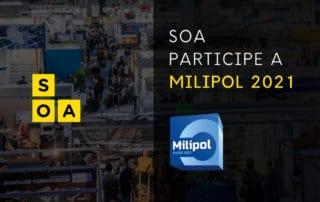 MILIPOL 2021 : SOA SERA PRESENTE ! 1