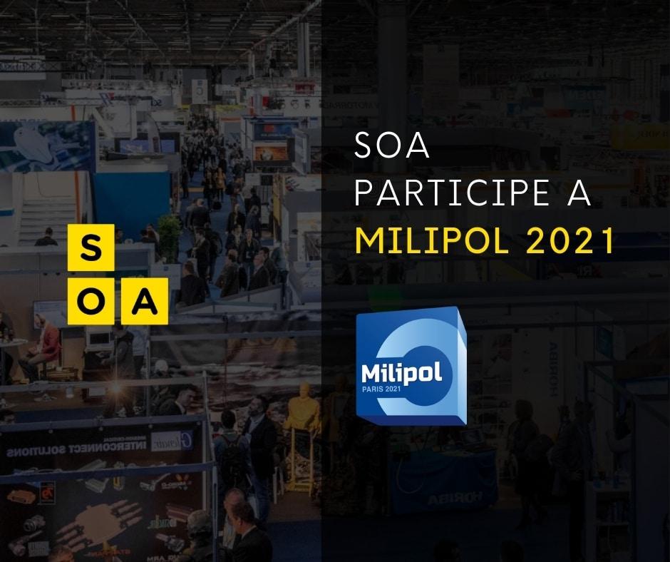 MILIPOL 2021 : SOA SERA PRESENTE ! 3